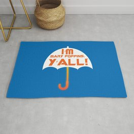 Yondu GOTG Mary Poppins Y'all Umbrella Rug