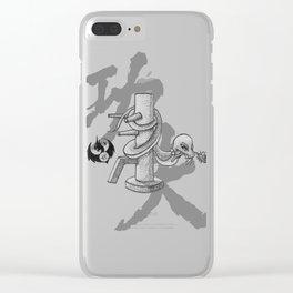 KungFu Zodiac - Snake Clear iPhone Case