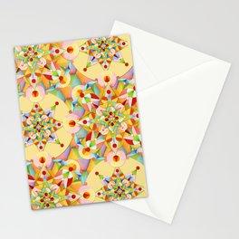Pastel Mandala Rainbow Stationery Cards