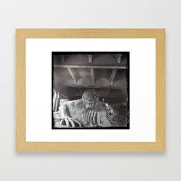 fremont troll Framed Art Print
