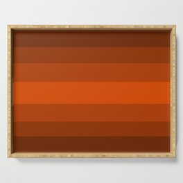 Sienna Spiced Orange - Color Therapy Serving Tray