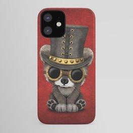 Steampunk Baby Raccoon iPhone Case