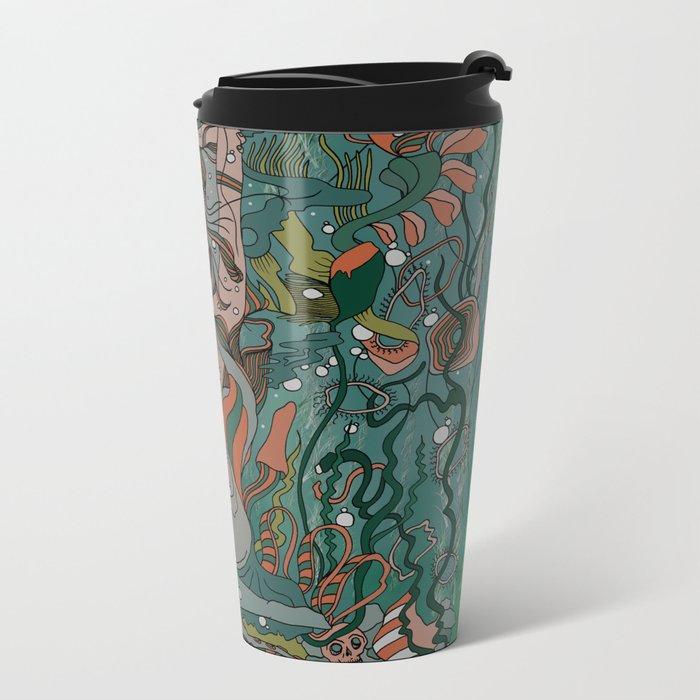 Make Peace With It Metal Travel Mug