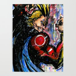 The No.1 Hero (All Might) Poster