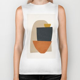 Abstract Art5 Biker Tank