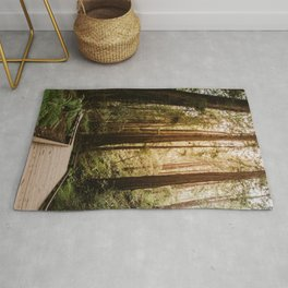 Muir Woods   California Redwoods Forest Nature Travel Photography Rug