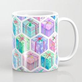 Christmas Gift Hexagons Coffee Mug