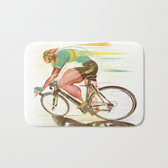 The Sprinter, Cycling Edition Bath Mat