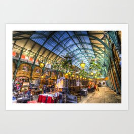 The Apple Market Covent Garden London Art Print