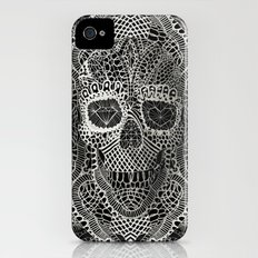 Lace Skull iPhone (4, 4s) Slim Case