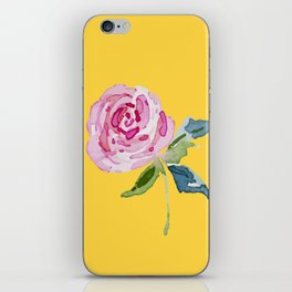 Watercolor Rose iPhone Skin