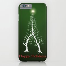 Christmas Tree Intertwined - painting iPhone 6s Slim Case
