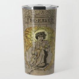 The Raven. 1884 edition cover Travel Mug