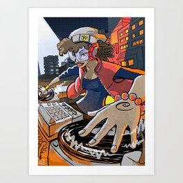 Salt 'n' Peppa Art Print