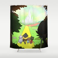 oz Shower Curtains featuring Page 182 - 'Oz' by Skyler