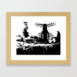 Revenge of the Mython Framed Art Print