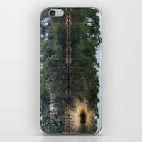illusion iPhone & iPod Skins featuring Illusion by Art de L'aube
