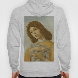 "Sandro Botticelli ""The Virgin and Child with Saint John and an Angel"" An angel Hoody"