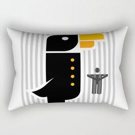 Angry birds or Angry Human #society6 #decor #buyart #artprint Rectangular Pillow