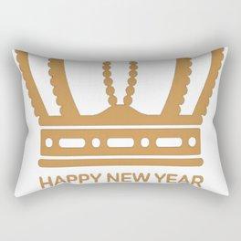 happy new year 2017 4 T-Shirt Rectangular Pillow