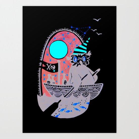 Smuggling Art Print