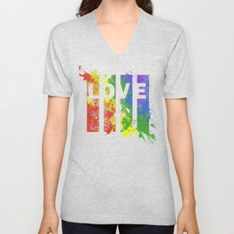 LOVE/COLOR Unisex V-Neck
