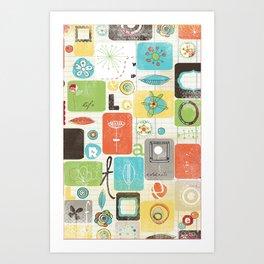 doodle fun Art Print