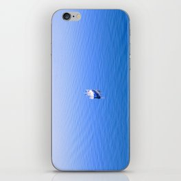 Lonely Ship iPhone Skin