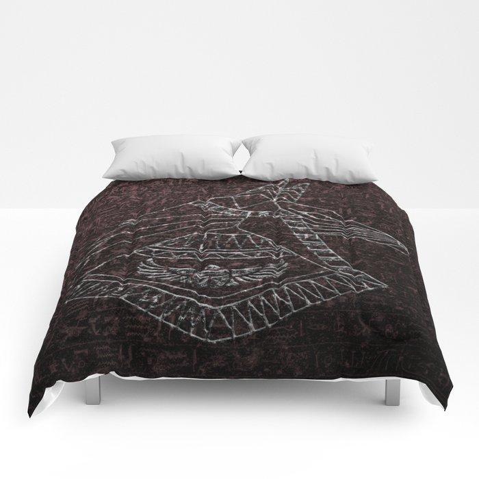 Anubis Egyptian God Comforters