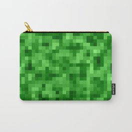 Colorful Pixelated Pixel Gamer Art Carry-All Pouch