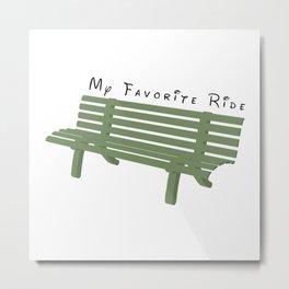 My Favorite Ride Metal Print