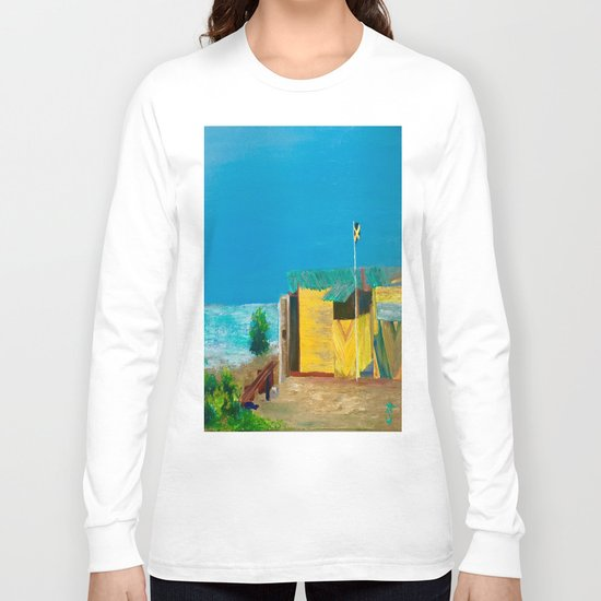 Jamaica. Jamaican Blues Long Sleeve T-shirt