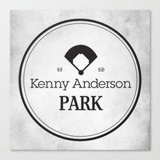 Kenny Anderson Park Canvas Print
