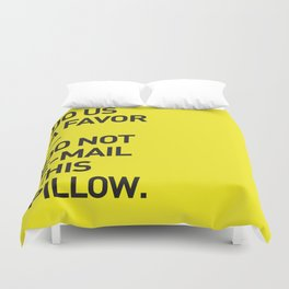 Save the planet. Duvet Cover