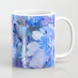 Wild Blue Rose Garden Coffee Mug