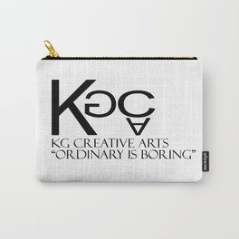 KG Creative Arts Logo Carry-All Pouch