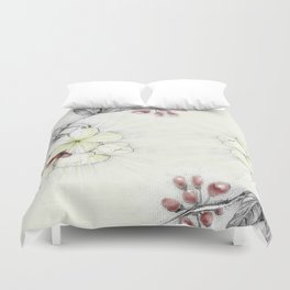 Pequi Flower Duvet Cover