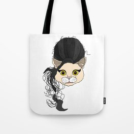 Amy Cat Head Tote Bag