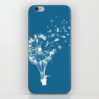 wind iPhone & iPod Skins featuring Going where the wind blows by Picomodi