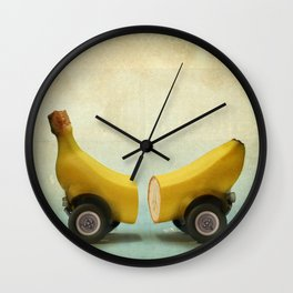 Banana Splitmobile Wall Clock
