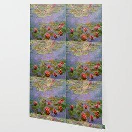 "Claude Monet ""Red Water Lilies"", 1919 Wallpaper"