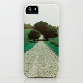 Best Farm Tree Turquoise iPhone Case