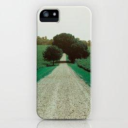 Best Farm Tree Turquoise iPhone Case