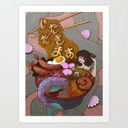 Itadakimasu Art Print