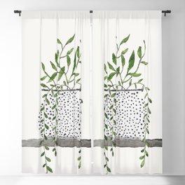 Vase 2 Blackout Curtain