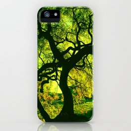 Green is the Tree iPhone Case
