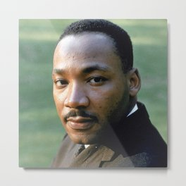 Martin Luther King - Black Culture - Black History Metal Print