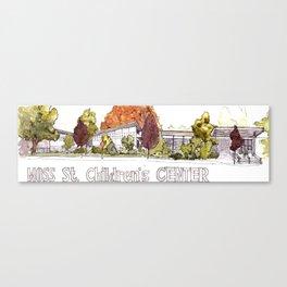 Moss Street Canvas Print