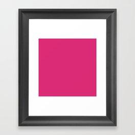 Fireball Fuchsia Framed Art Print