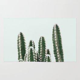 Blue Sky Cactus Rug